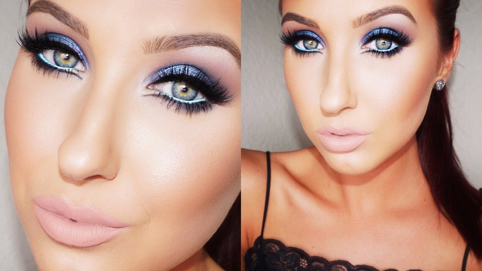 light party makeup tutorial