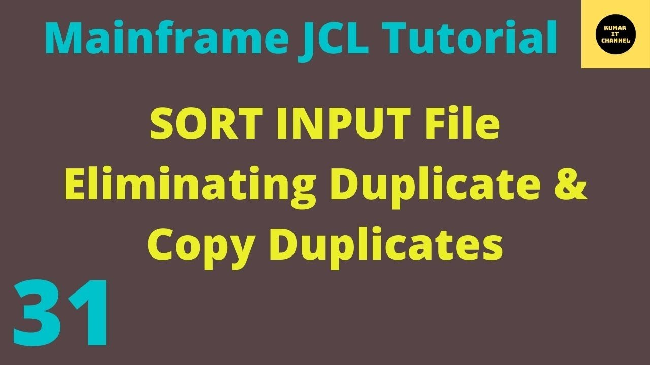 jcl tutorial with examples