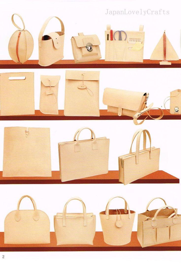 handmade leather bag tutorial