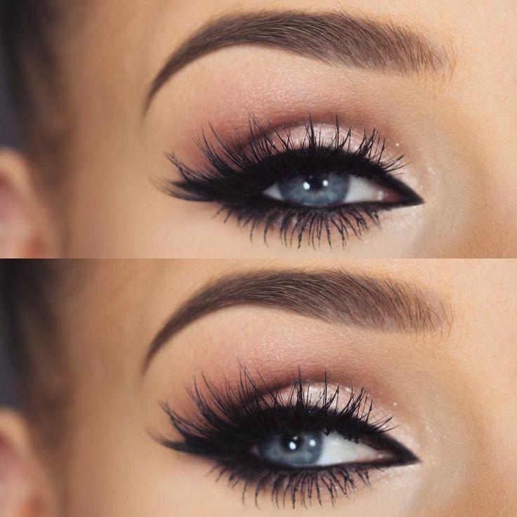 natural eye makeup tutorial for blue eyes