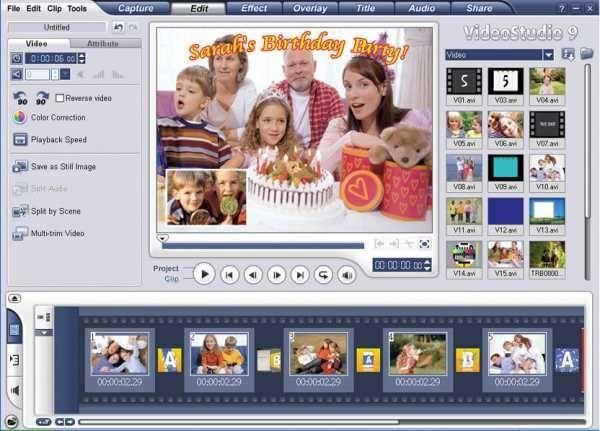 ulead video studio 11 tutorial pdf free download