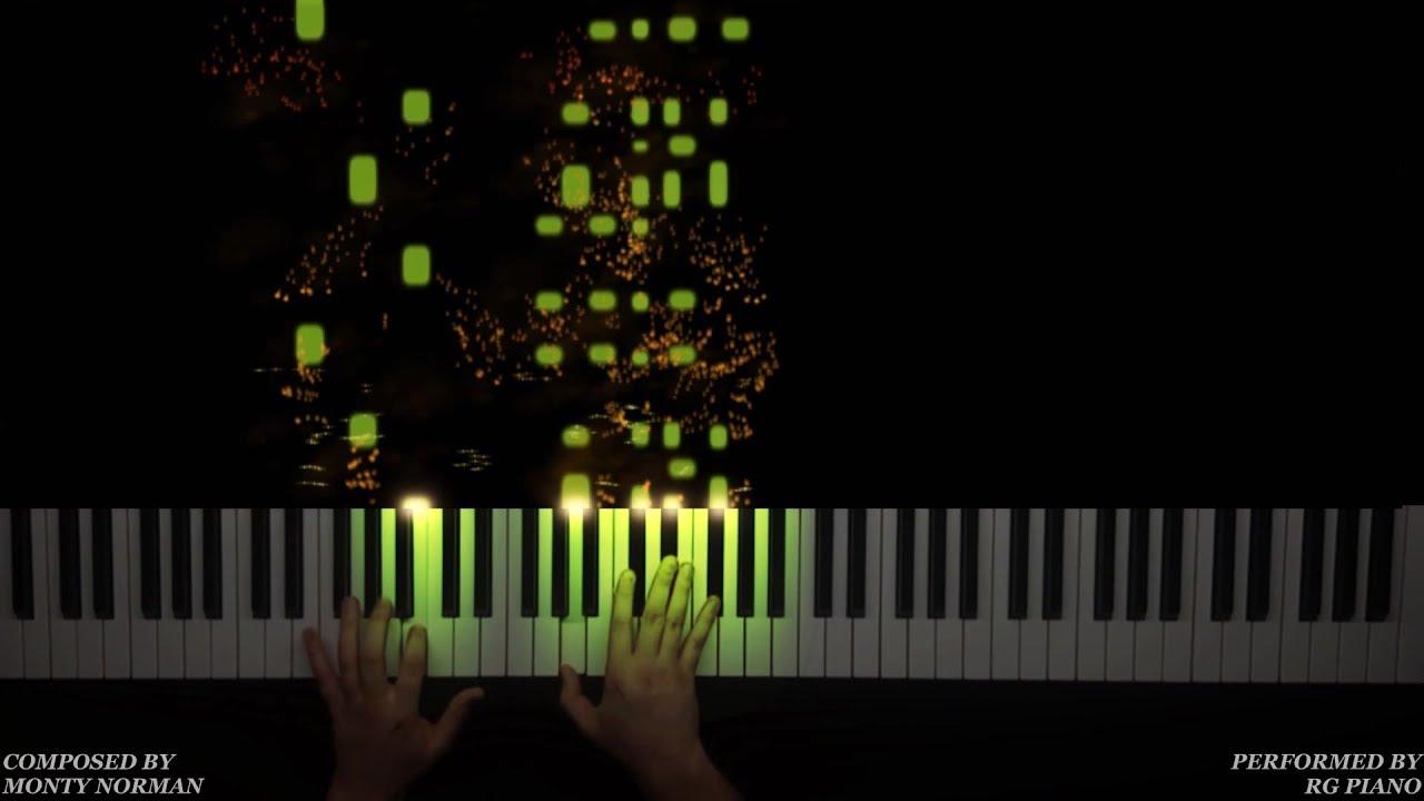 james bond theme piano tutorial