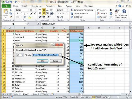 excel conditional formatting tutorial pdf