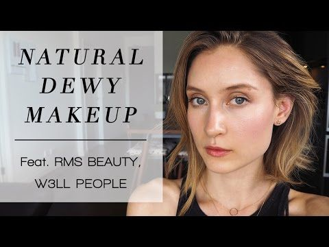 natural dewy makeup tutorial