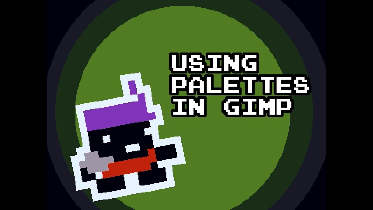 gimp pixel art tutorial