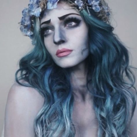 the corpse bride makeup tutorial