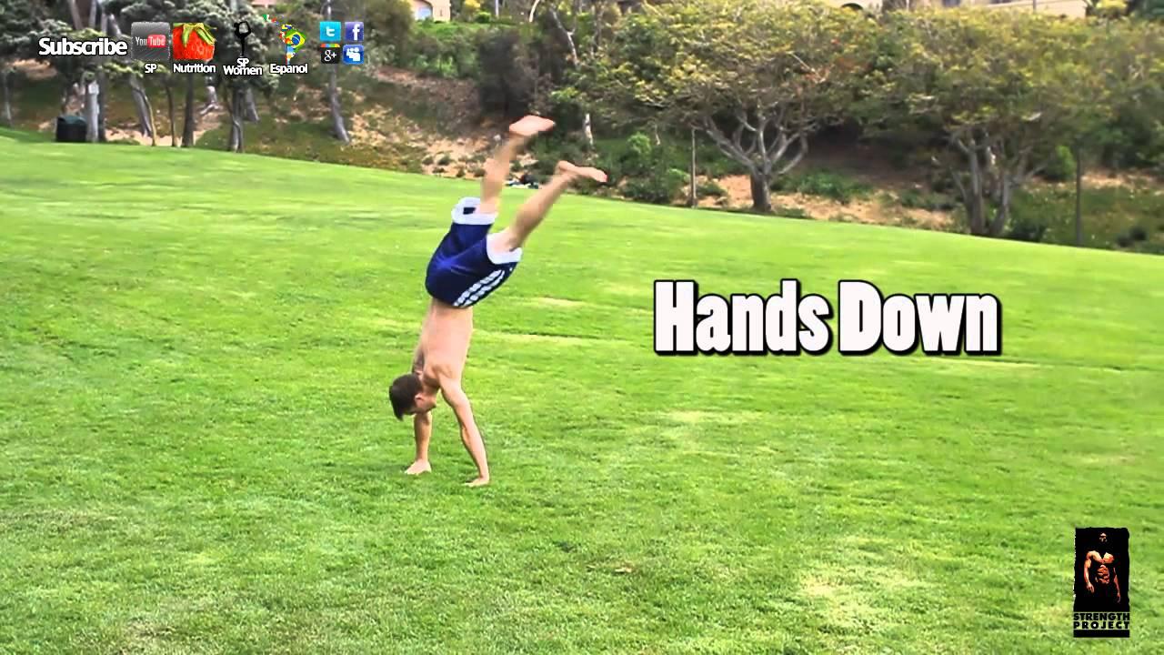 roundoff back handspring tutorial