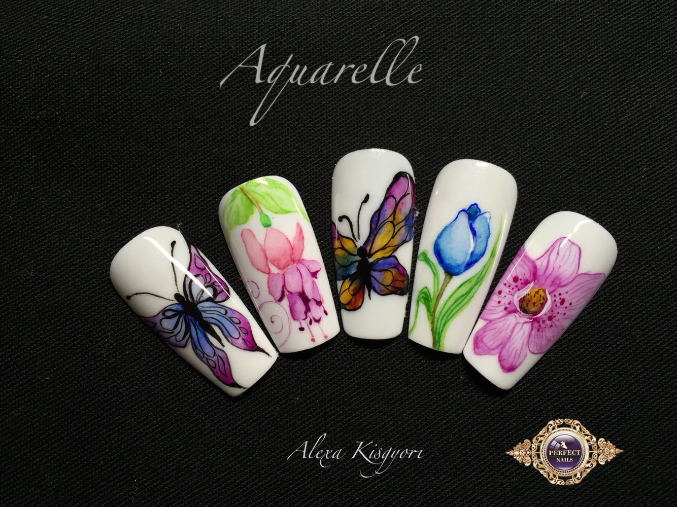 3d acrylic nail art tutorial