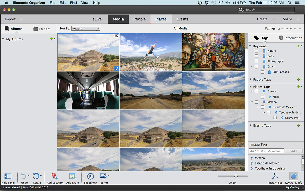 photoshop elements organizer tutorial