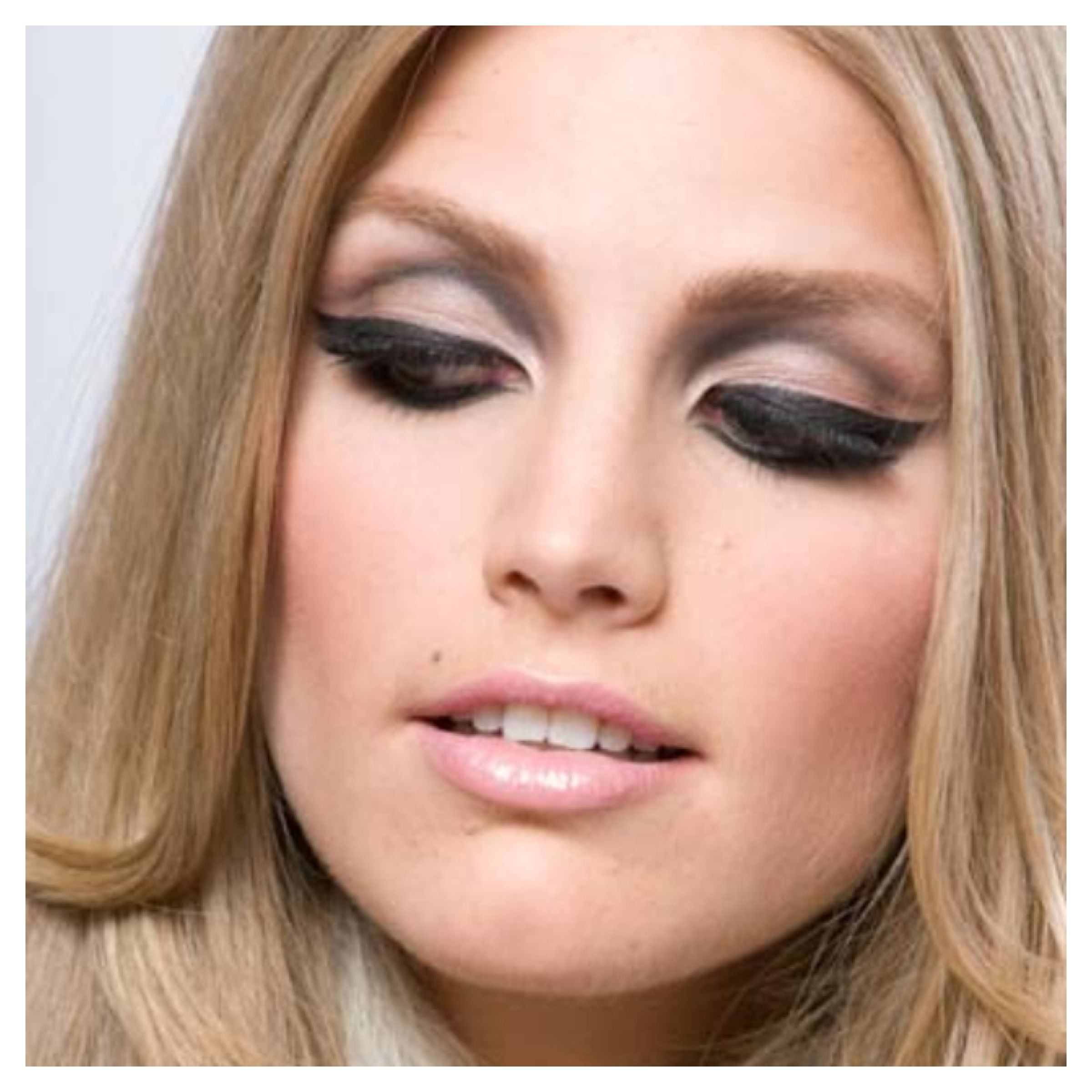 60s style makeup tutorial