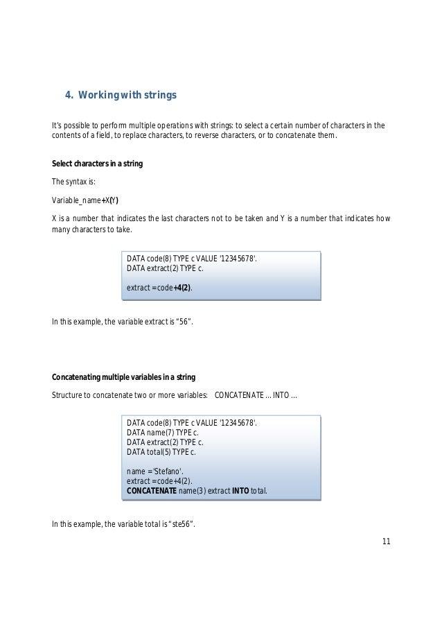 abap tutorial for beginners pdf