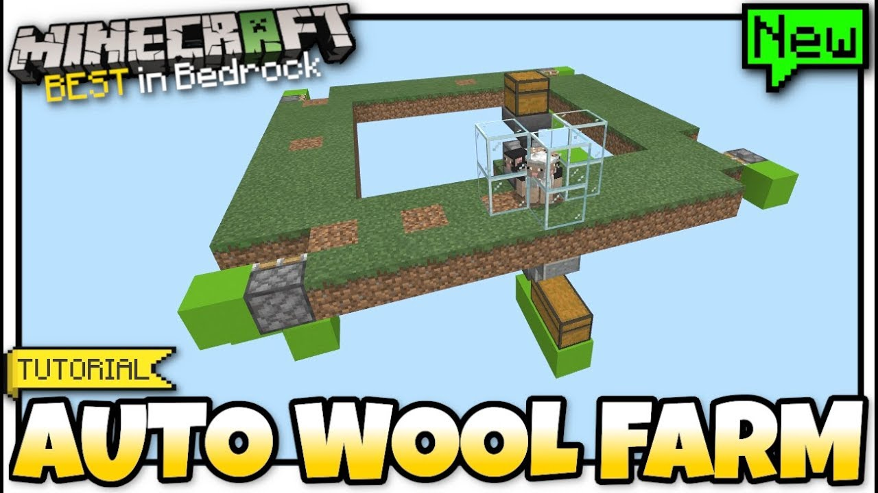 minecraft wool farm tutorial