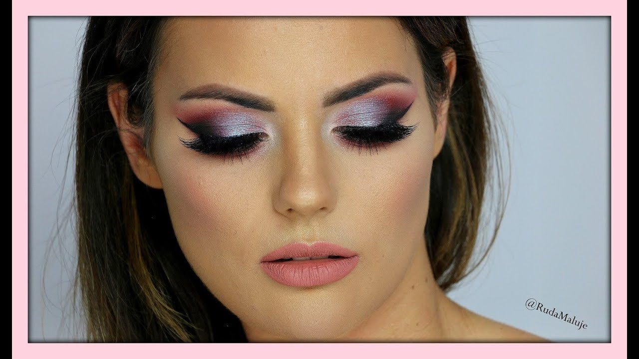huda beauty eyeshadow tutorial
