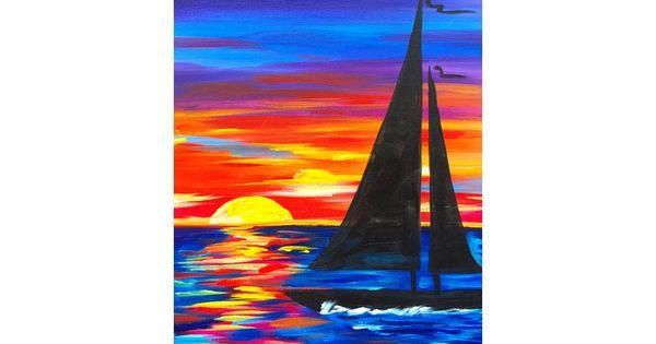 acrylic seascape painting tutorial