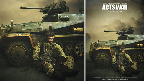 action movie poster photoshop tutorial
