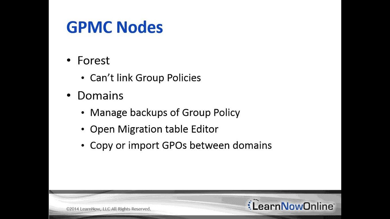 active directory group policy tutorial