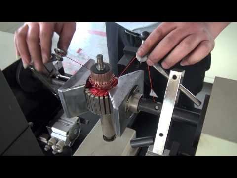 ceiling fan motor winding tutorial