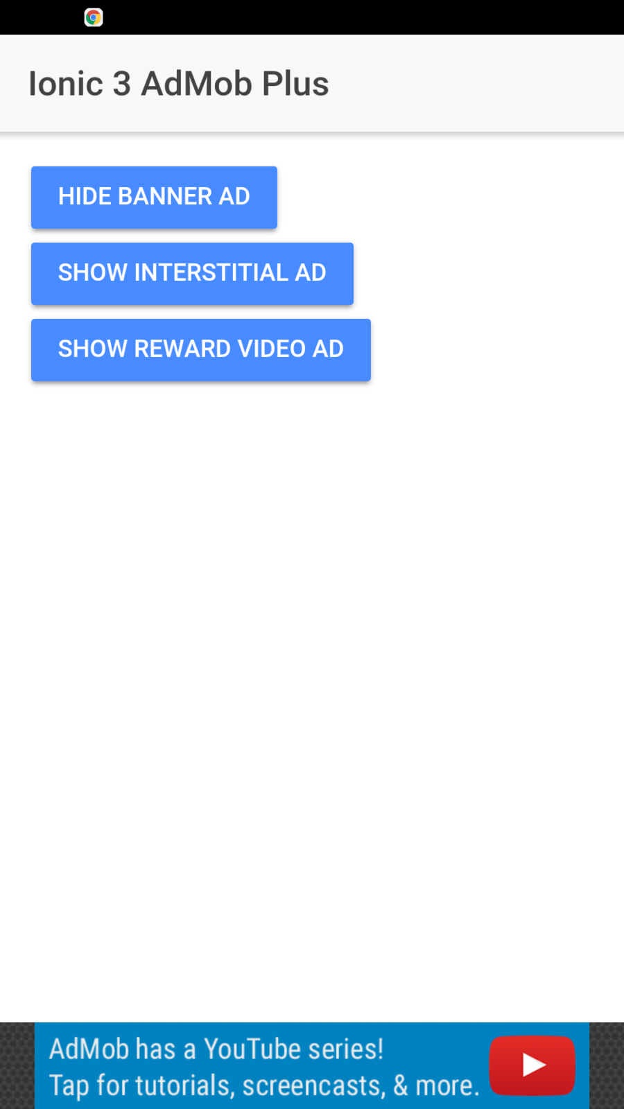 admob rewarded video tutorial