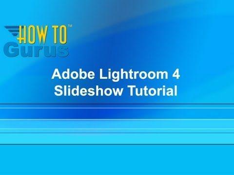 adobe lightroom 5 tutorial pdf