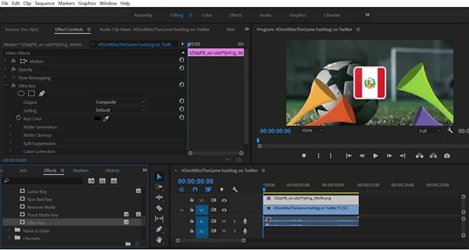 adobe premiere pro green screen tutorial
