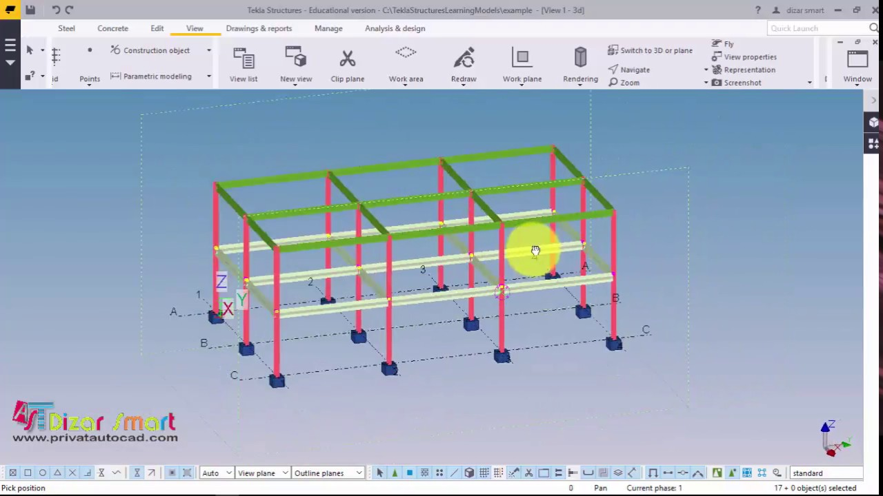 tekla structures tutorial pdf