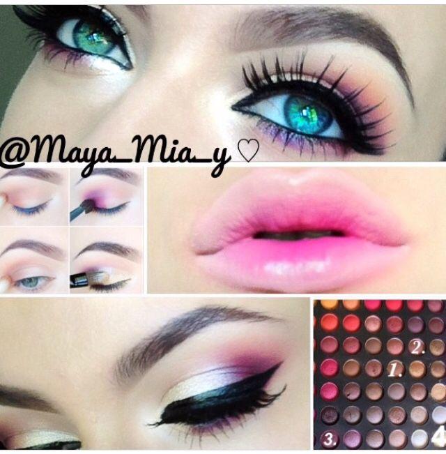 nyx ultimate eyeshadow palette warm neutrals tutorial