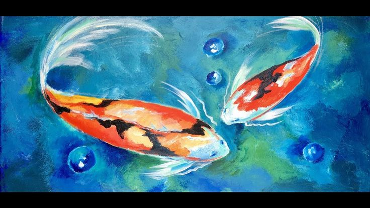 koi fish drawing tutorial