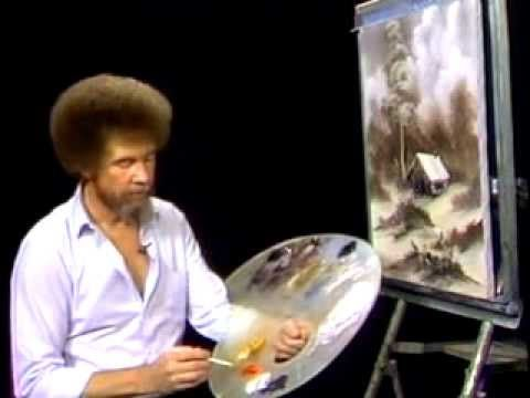 bob ross photoshop tutorial