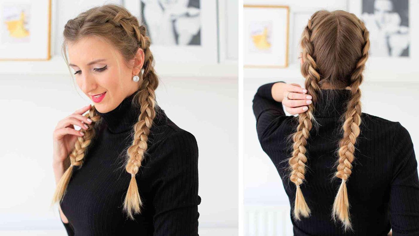 how to braid hair tutorial
