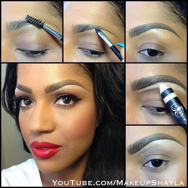 african american eye makeup tutorial