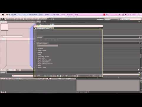 after effects interface tutorial