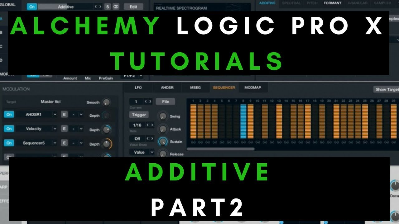 alchemy logic pro x tutorial