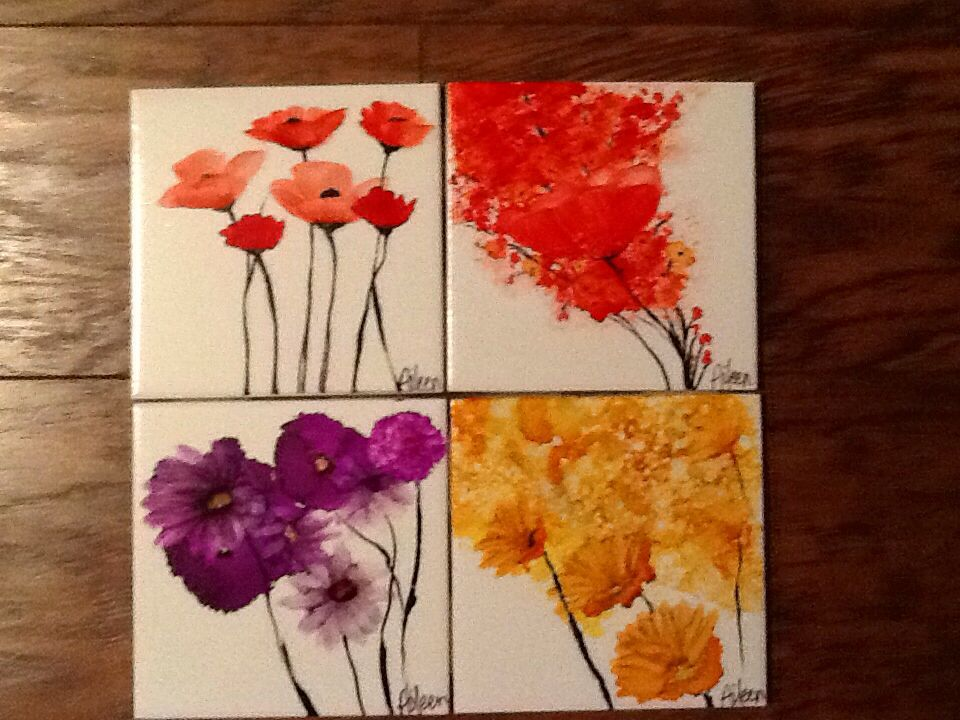 alcohol ink coasters tutorial