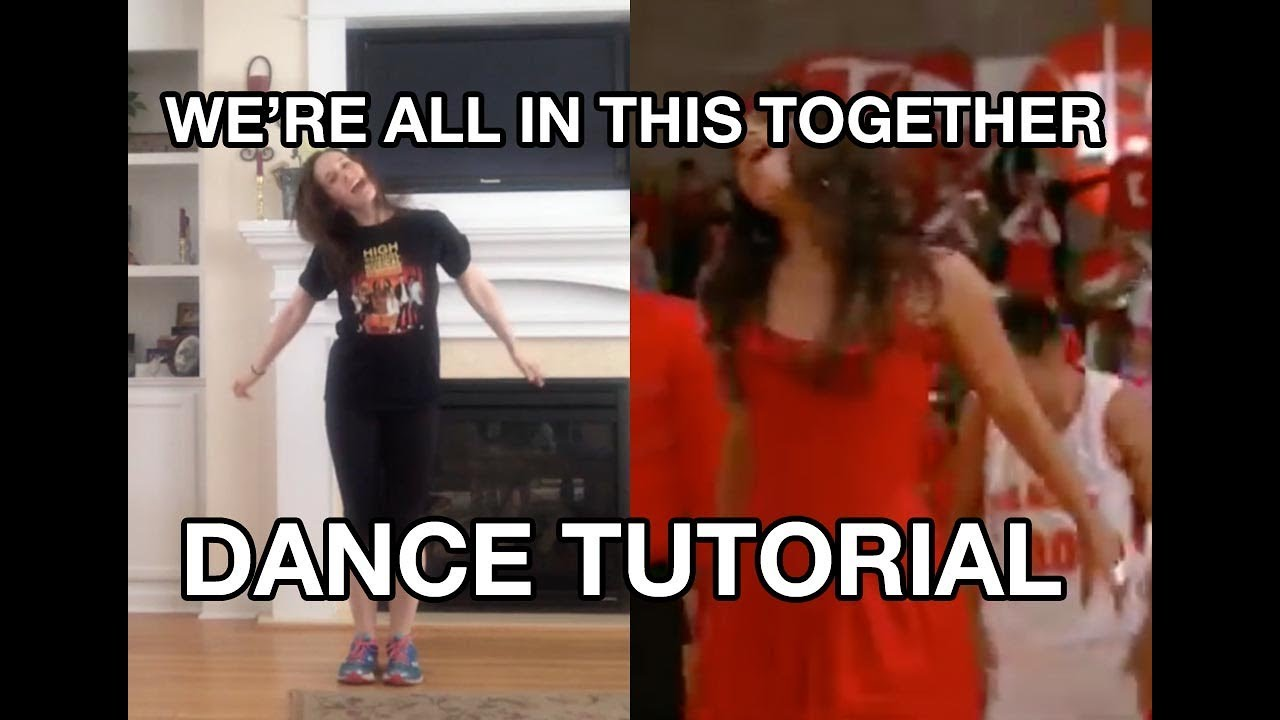 all in this together dance tutorial