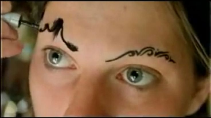 amanda palmer eyebrows tutorial