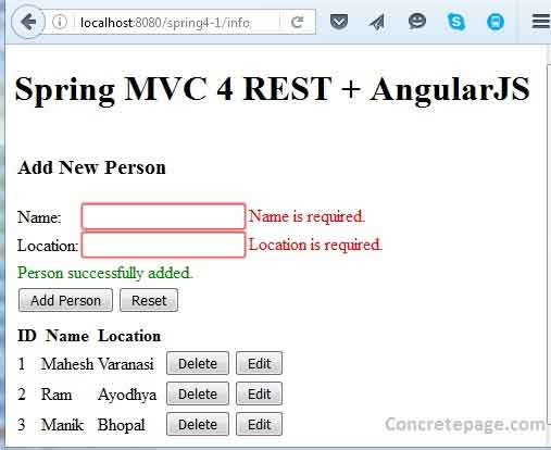 angularjs with mongodb tutorial