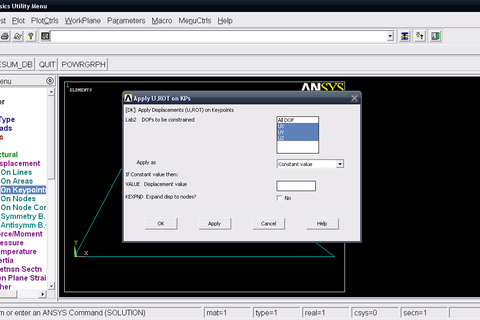 ansys mechanical apdl tutorial