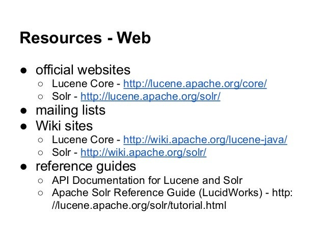 apache solr search tutorial