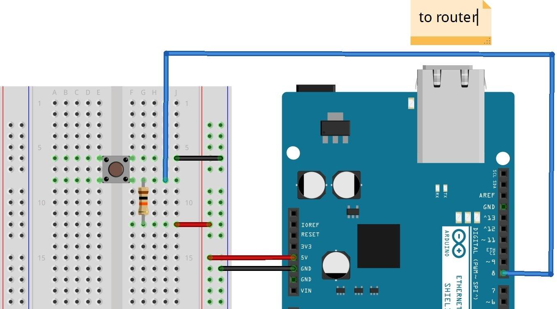 arduino ethernet shield tutorial web server