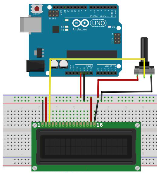 arduino lcd screen tutorial