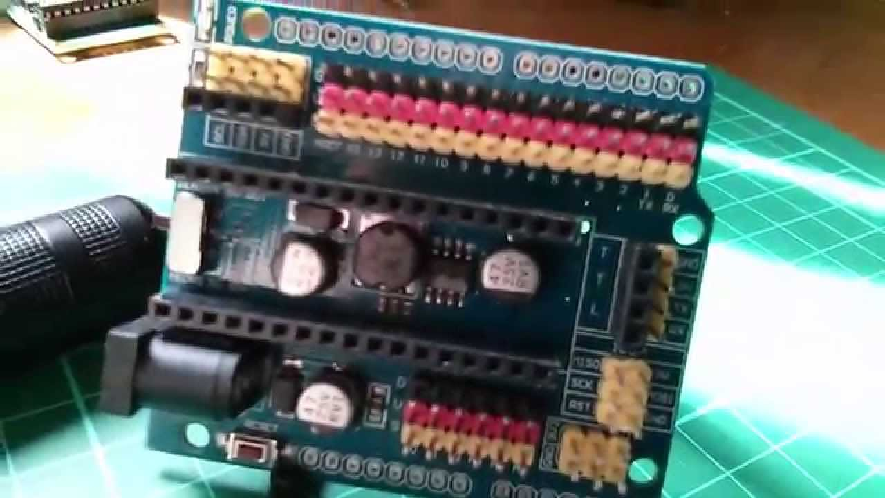 arduino sensor shield tutorial
