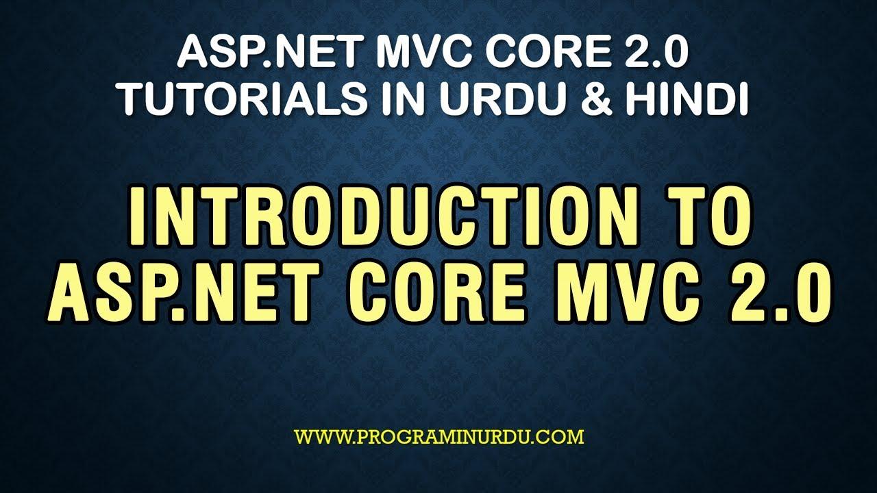 asp net mvc 2 tutorial