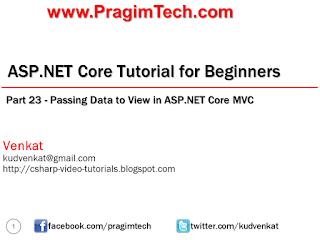 asp net mvc 4 video tutorial