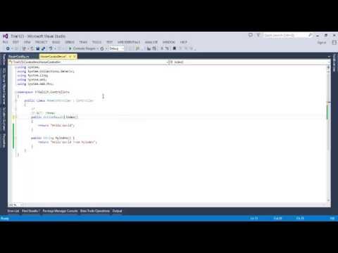 asp net mvc basic tutorial