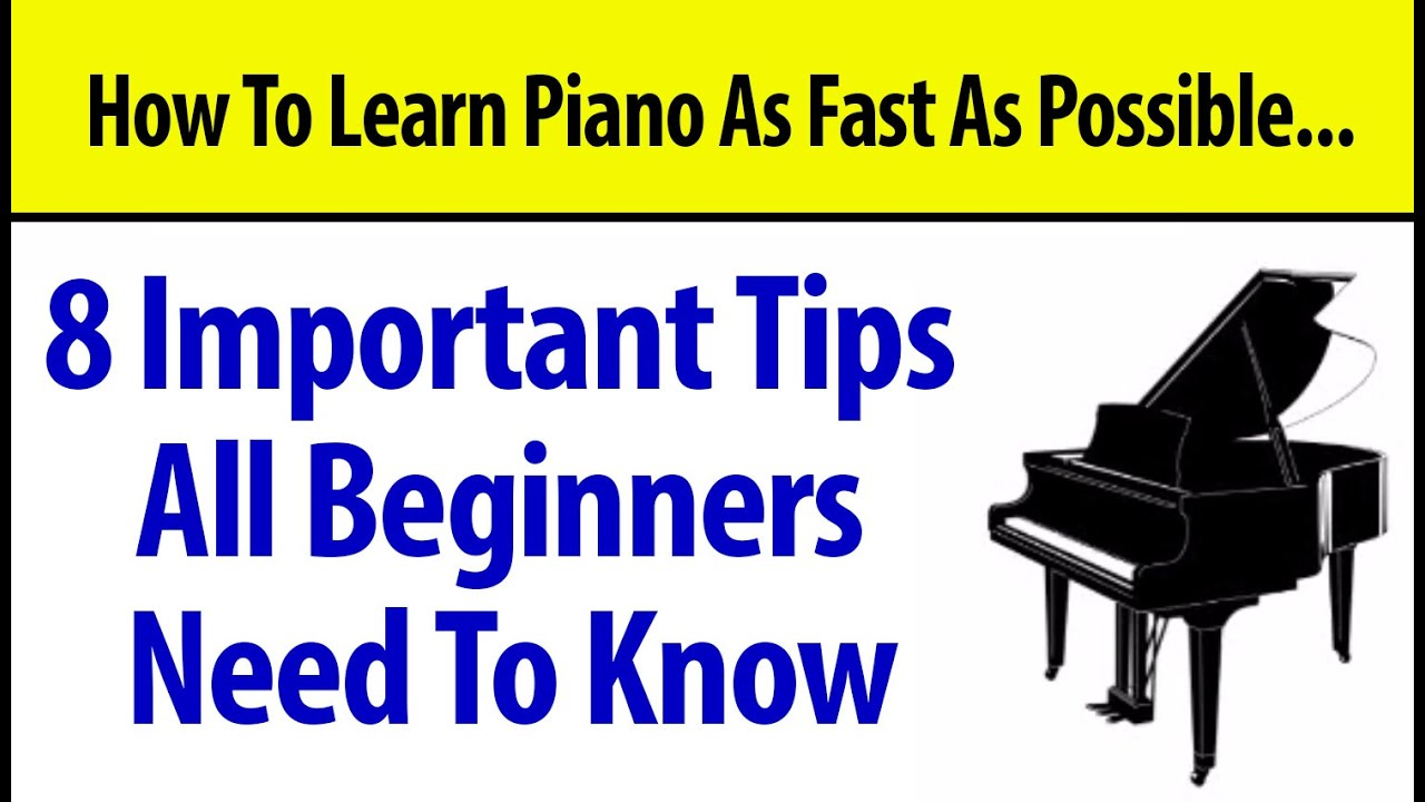 at the beginning piano tutorial