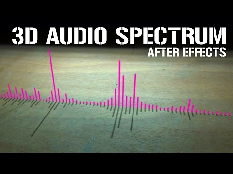 audio spectrum after effects tutorial