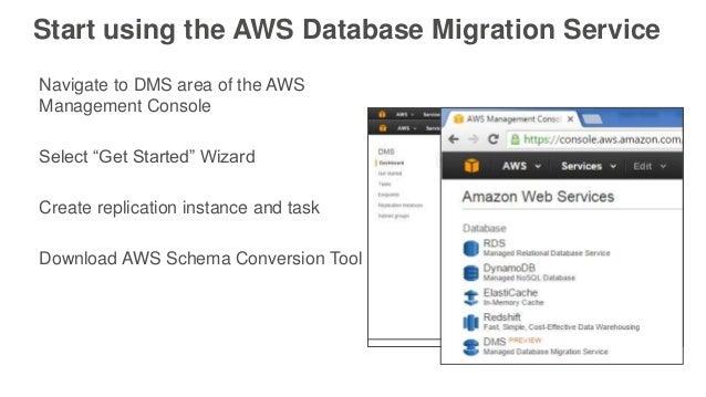 aws database migration service tutorial