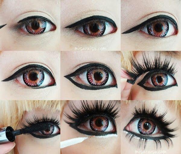 anime doll makeup tutorial