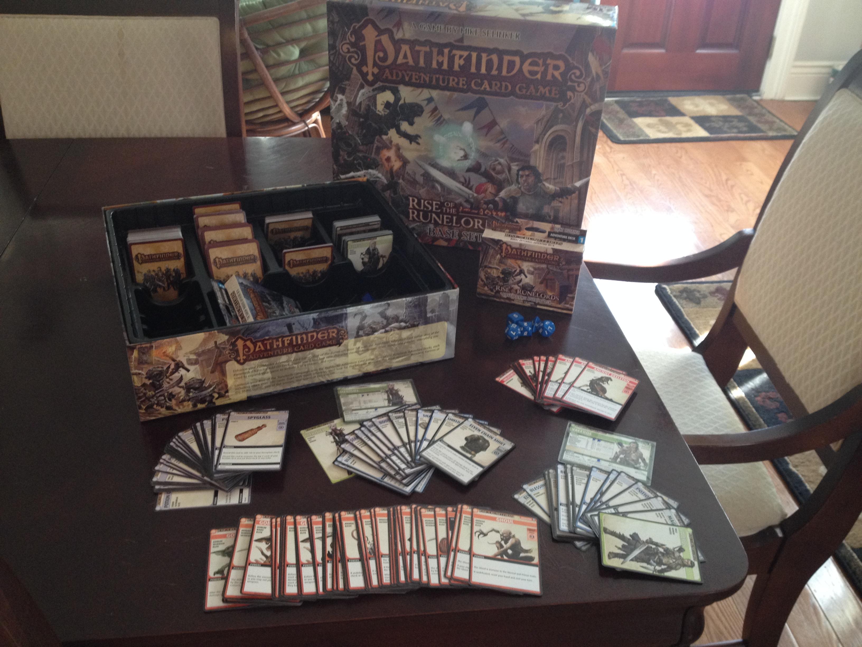 pathfinder adventure card game tutorial