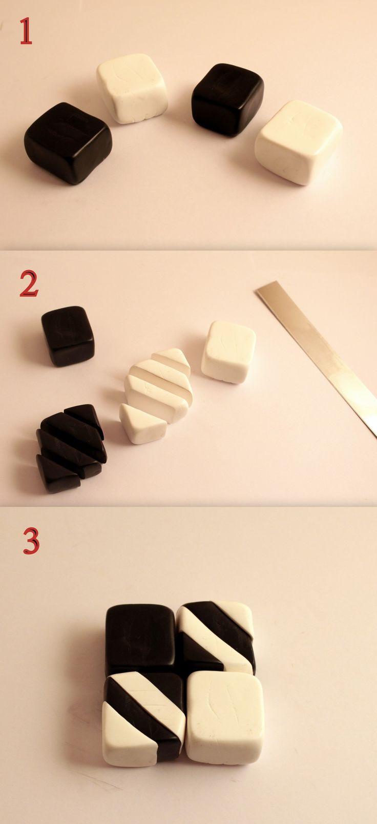 polymer clay kiwi cane tutorial